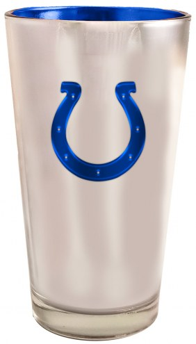 Indianapolis Colts 16 oz. Electroplated Pint Glass