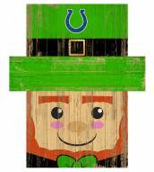 "Indianapolis Colts 19"" x 16"" Leprechaun Head"