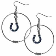 """Indianapolis Colts 2"""" Hoop Earrings"""