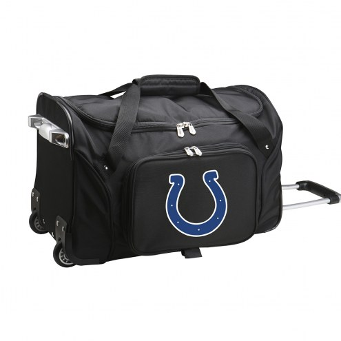 """Indianapolis Colts 22"""" Rolling Duffle Bag"""