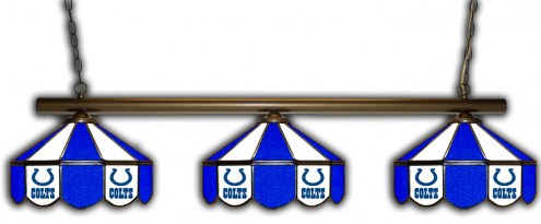 Indianapolis Colts 3 Shade Pool Table Light