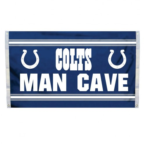 Indianapolis Colts 3' x 5' Man Cave Flag