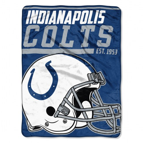 Indianapolis Colts 40 Yard Dash Blanket