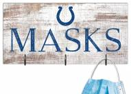 """Indianapolis Colts 6"""" x 12"""" Mask Holder"""