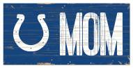 """Indianapolis Colts 6"""" x 12"""" Mom Sign"""
