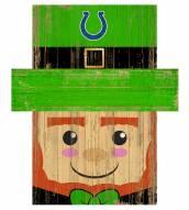"Indianapolis Colts 6"" x 5"" Leprechaun Head"