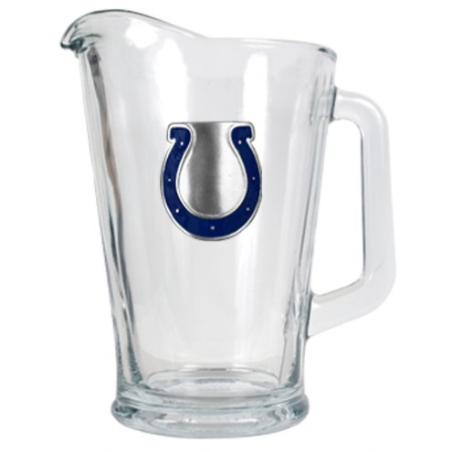 Indianapolis Colts 60 Oz. Glass Pitcher - Primary Logo