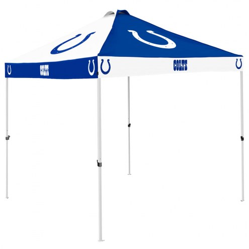 Indianapolis Colts 9' x 9' Checkerboard Tailgate Canopy Tent