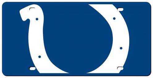 Indianapolis Colts Acrylic Mega License Plate