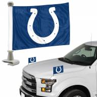 Indianapolis Colts Ambassador Hood & Trunk Car Flag