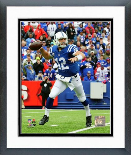 Indianapolis Colts Andrew Luck 2015 Action Framed Photo