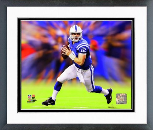 Indianapolis Colts Andrew Luck Motion Blast Framed Photo