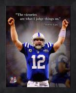 Indianapolis Colts Andrew Luck Framed Pro Quote