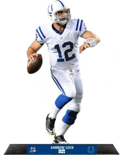 Indianapolis Colts Andrew Luck Standz Photo Sculpture