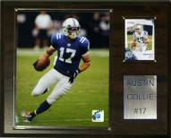 "Indianapolis Colts Austin Collie 12 x 15"" Player Plaque"