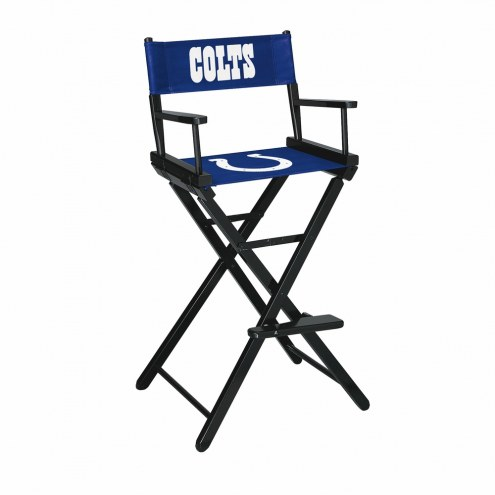 Indianapolis Colts Bar Height Director's Chair