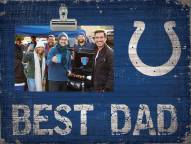 Indianapolis Colts Best Dad Clip Frame