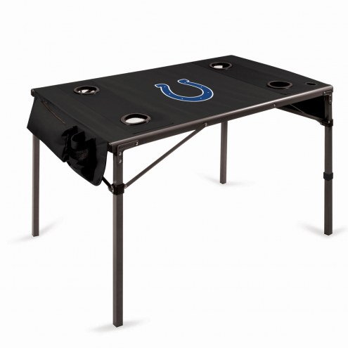 Indianapolis Colts Black Travel Table