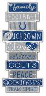 Indianapolis Colts Celebrations Stack Sign