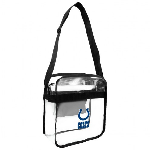 Indianapolis Colts Clear Crossbody Carry-All Bag