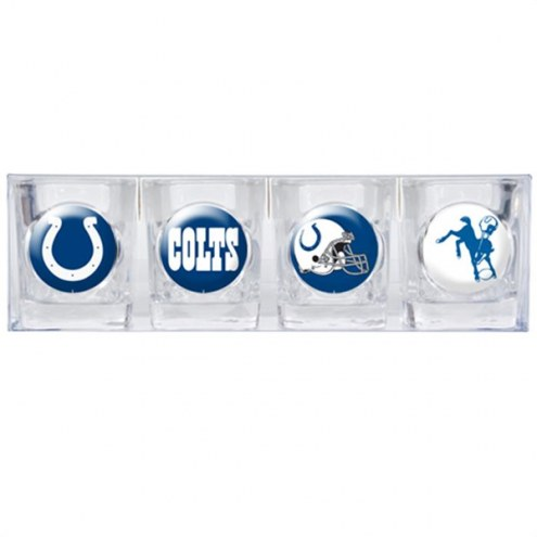 Indianapolis Colts Collector's Shot Glass Set