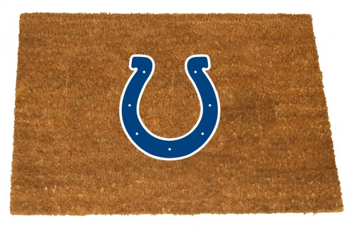 Indianapolis Colts Colored Logo Door Mat
