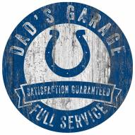 Indianapolis Colts Dad's Garage Sign