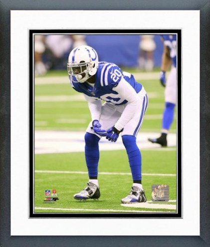 Indianapolis Colts Darius Butler 2014 Action Framed Photo