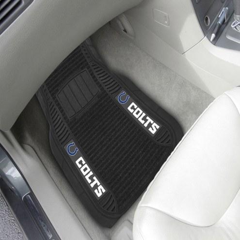 Indianapolis Colts Deluxe Car Floor Mat Set