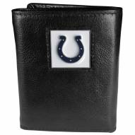 Indianapolis Colts Deluxe Leather Tri-fold Wallet in Gift Box