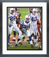Indianapolis Colts Dexter Reid Super Bowl XLI 2006 Action Framed Photo