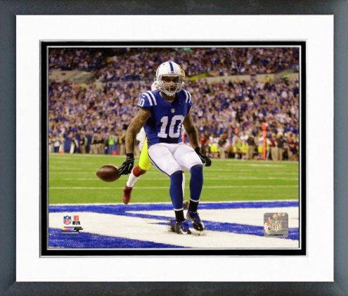 Indianapolis Colts Donte Moncrief 2014 Action Framed Photo