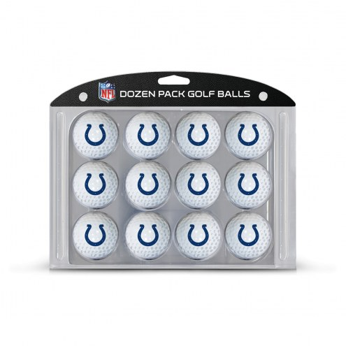 Indianapolis Colts Dozen Golf Balls