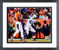 Indianapolis Colts Dwayne Allen Touchdown Catch Playoff Action Framed Photo