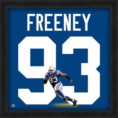 Indianapolis Colts Dwight Freeney Uniframe Framed Jersey Photo