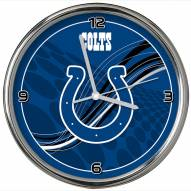 Indianapolis Colts Dynamic Chrome Clock