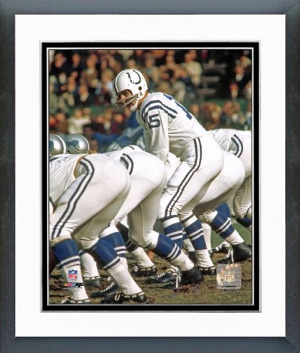 Indianapolis Colts Earl Morrall Action Framed Photo