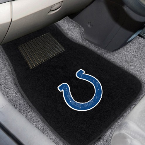 Indianapolis Colts Embroidered Car Mats