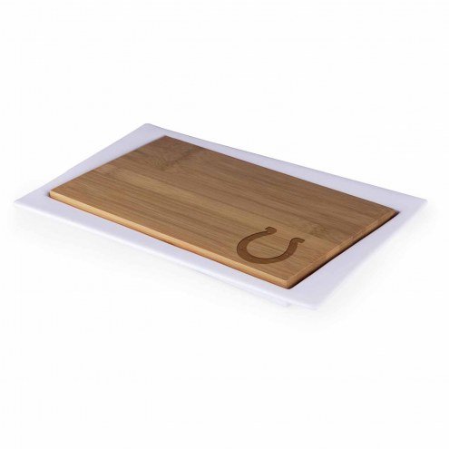 Indianapolis Colts Enigma Cutting Board & Serving Tray