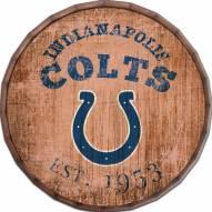 "Indianapolis Colts Established Date 16"" Barrel Top"
