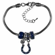 Indianapolis Colts Euro Bead Bracelet