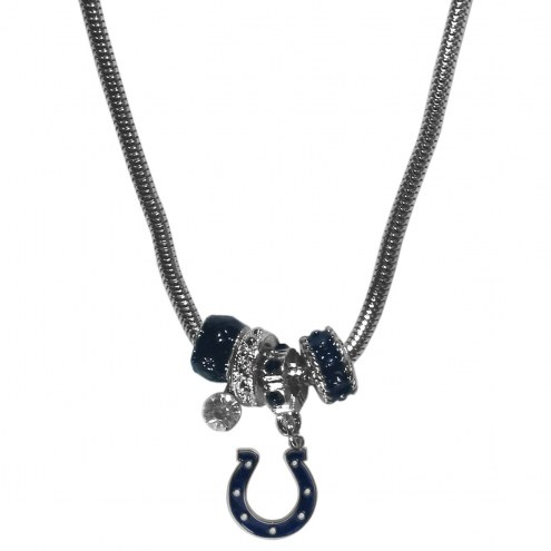 Indianapolis Colts Euro Bead Necklace