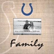 Indianapolis Colts Family Picture Frame
