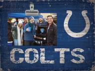 Indianapolis Colts Wood Clip Frame