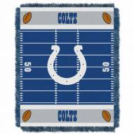 Indianapolis Colts Field Baby Blanket