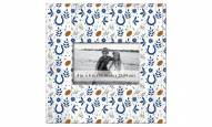 """Indianapolis Colts Floral Pattern 10"""" x 10"""" Picture Frame"""