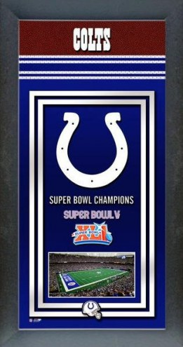 Indianapolis Colts Framed Championship Print