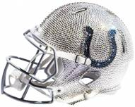 Indianapolis Colts Full Size Swarovski Crystal Football Helmet