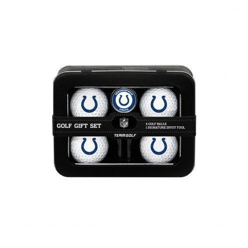 Indianapolis Colts Golf Ball & Divot Tool Gift Set