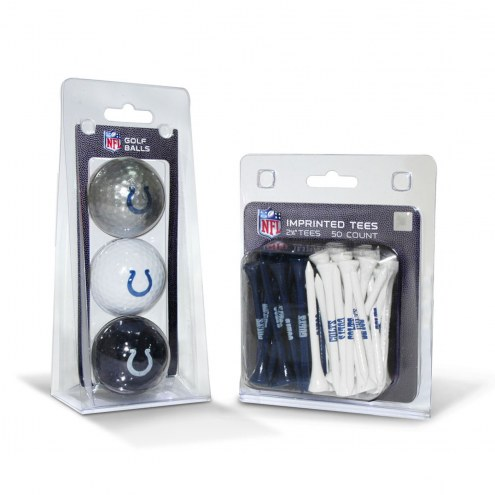 Indianapolis Colts Golf Ball & Tee Pack